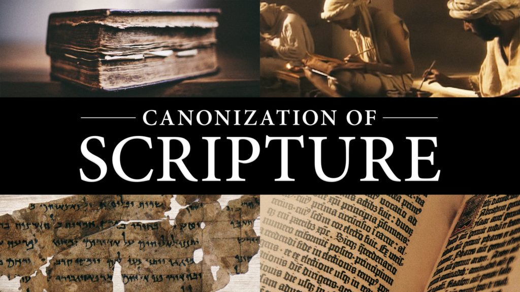 Canonization of Scripture
