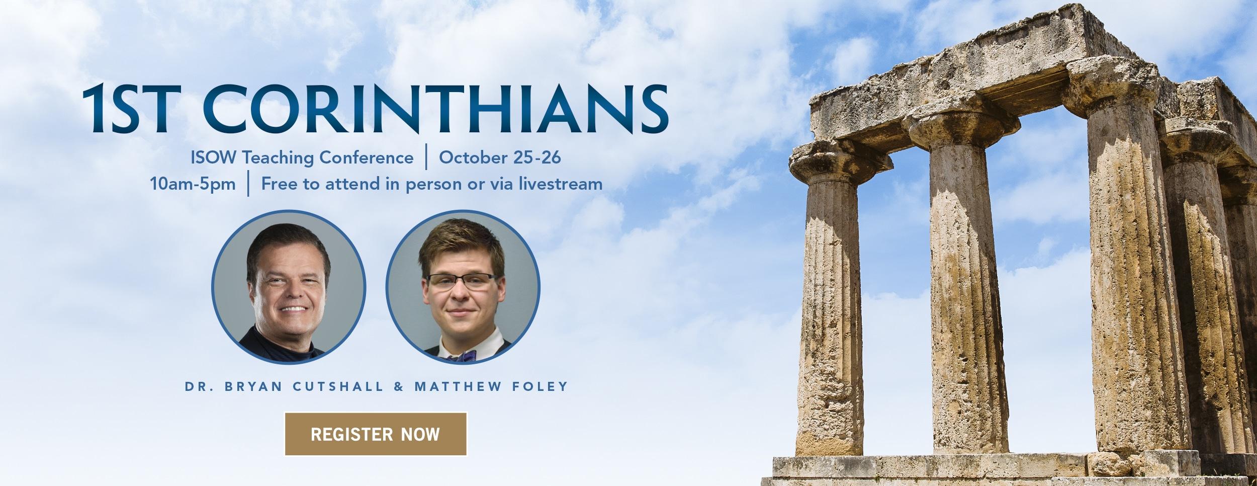 1st Corinthians Teaching – Website Banner