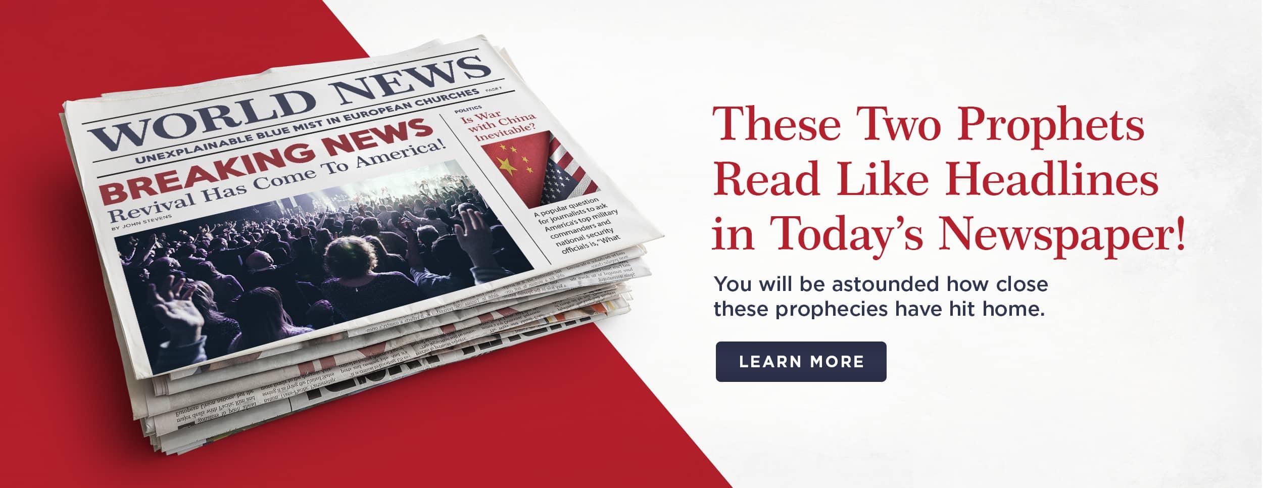 Bible Prophets Bundle – Flash Sale – Website Banner v1