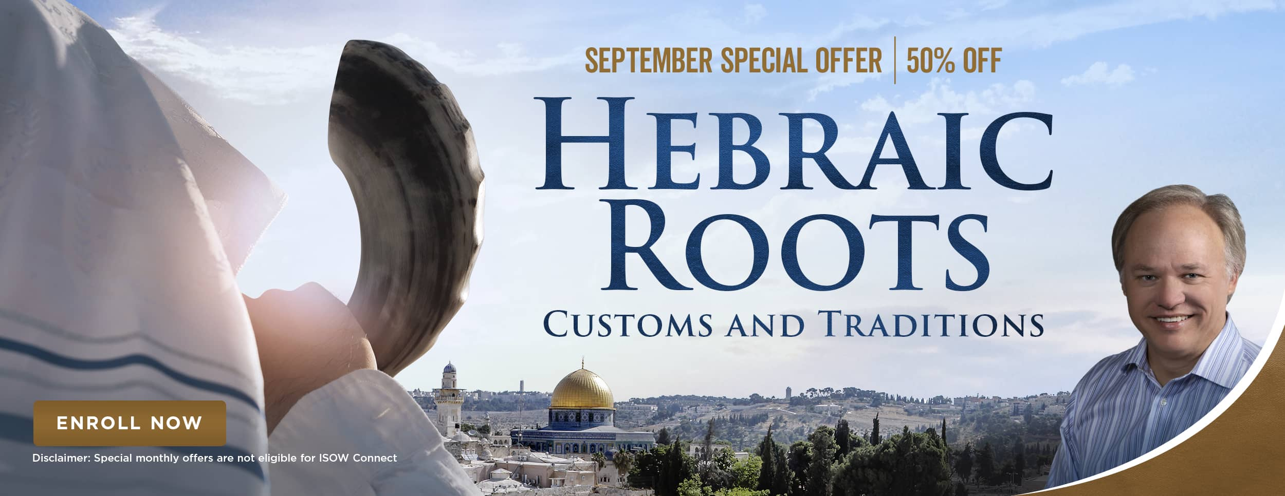 Hebraic Roots Customs and Traditions – Sale – Website Banner