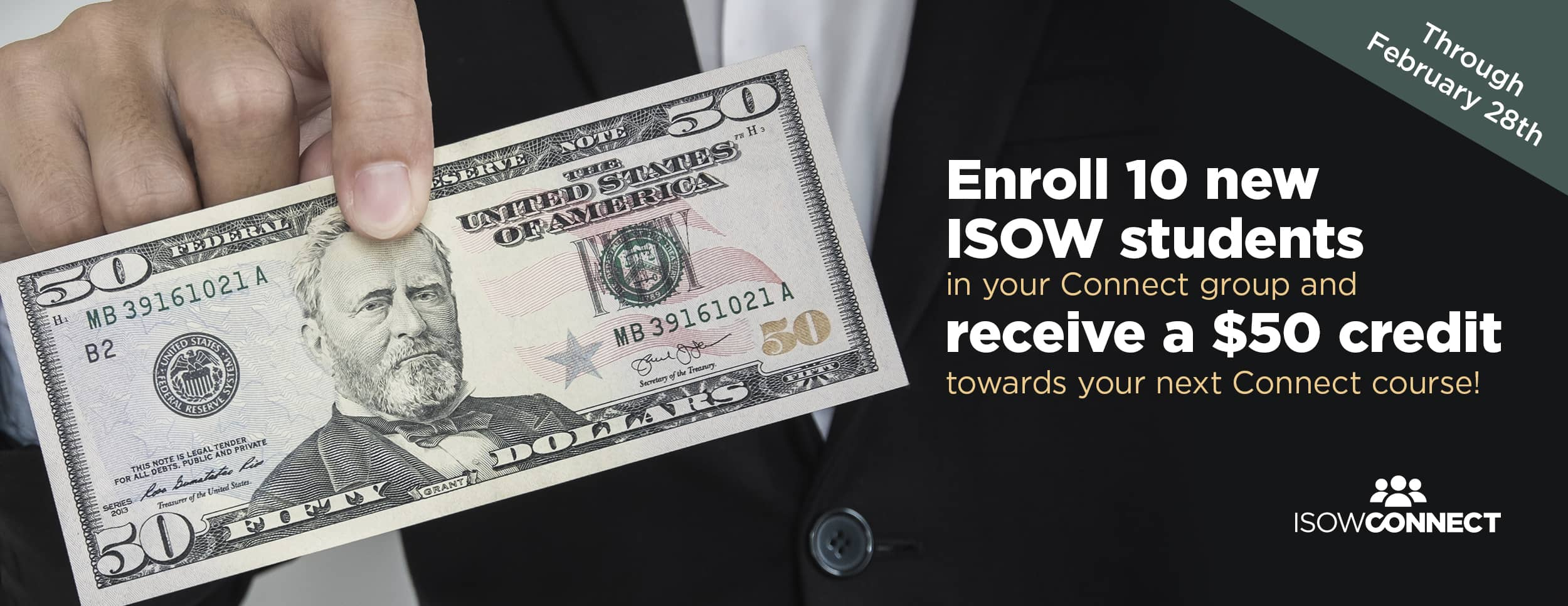 ISOW Connect 50 Dollar Credit – Website Banner – Update (1)