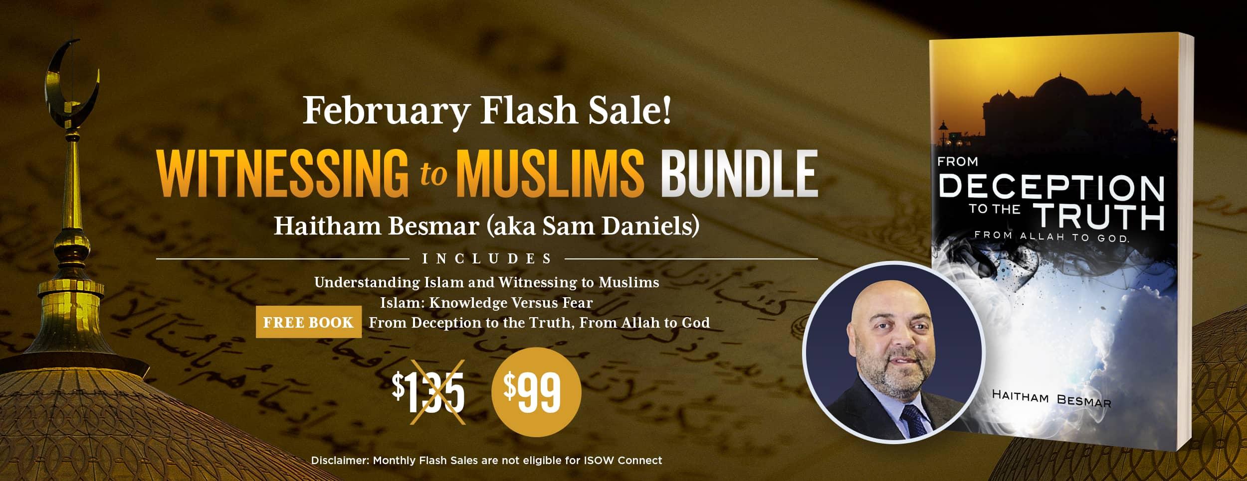 Islam Bundle Flash Sale Website Banner