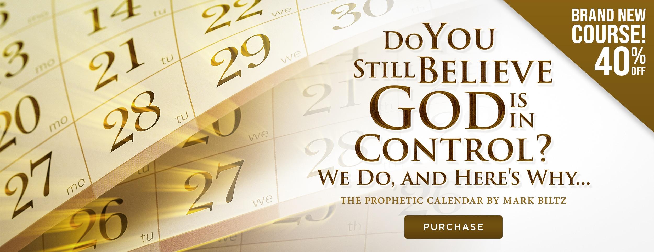 Prophetic Calendar – Flash Sale – Website Banner