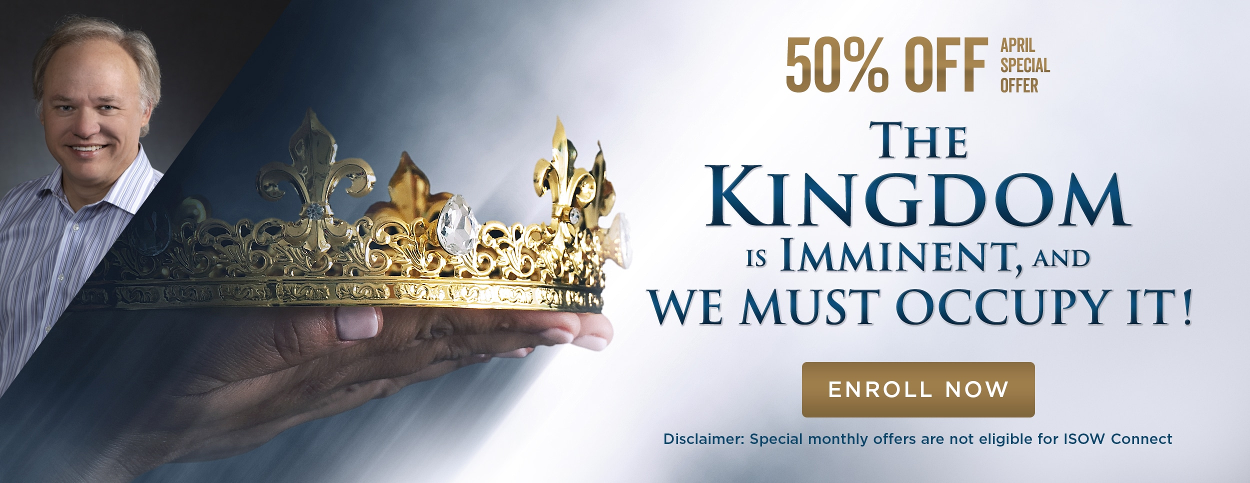 The Kingdom of Heaven Sale – Website Banner