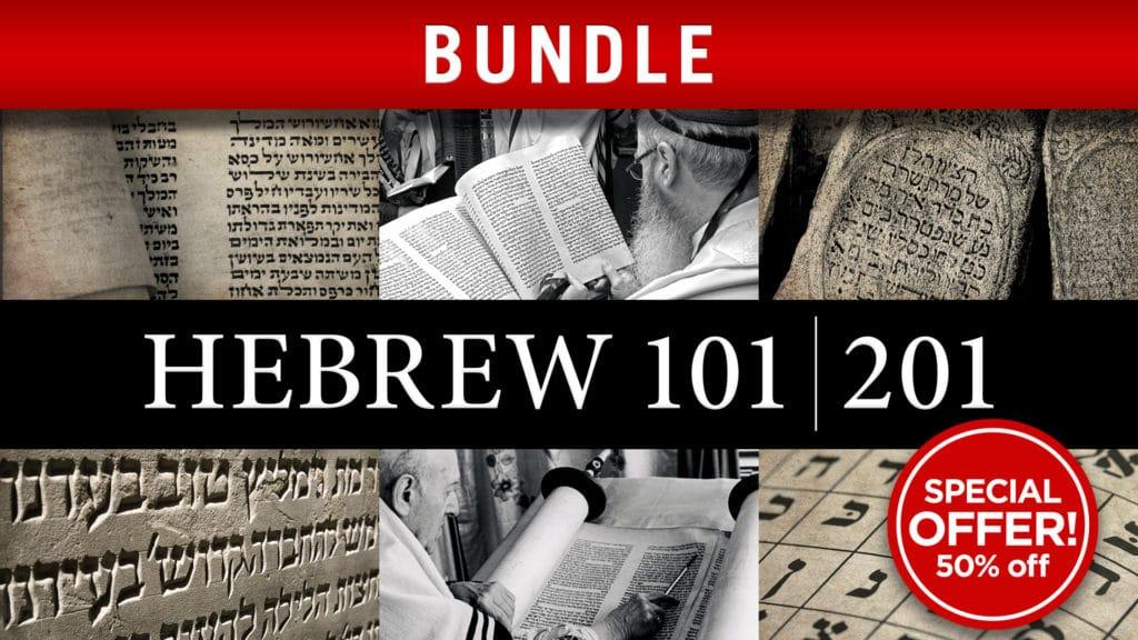 Hebrew 101/201 Bundle