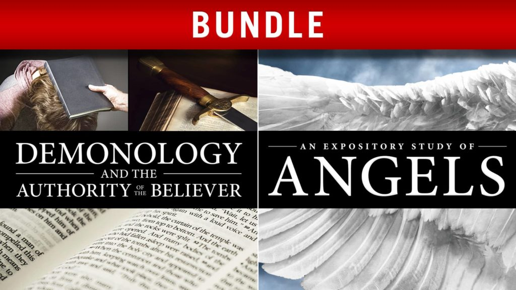 Expository Study of Angels and Demonology and the Authority of the Believer Bundle