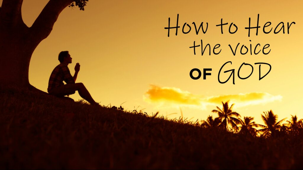 How to Hear the Voice of God Pre-Sale