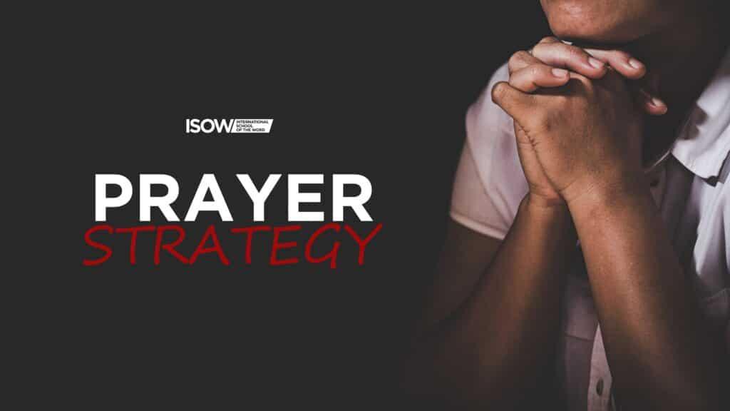 Prayer Strategy – How to Develop Intimacy with God through Prayer Pre-Sale