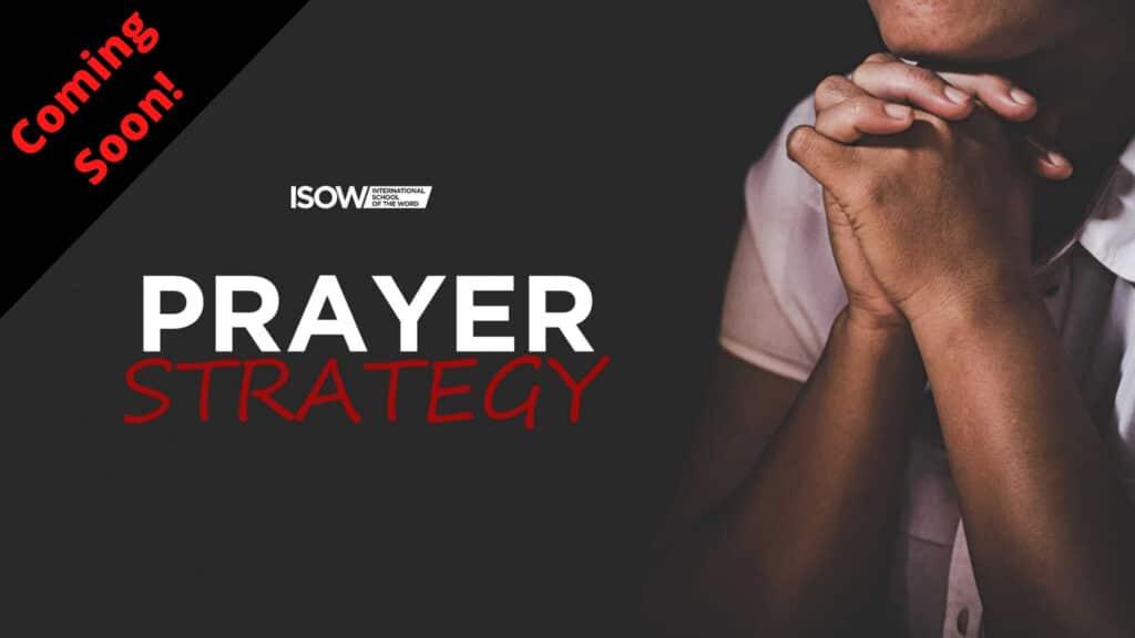 Prayer Strategy Pre-Sale
