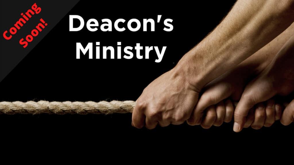Deacon's Ministry Pre-Sale